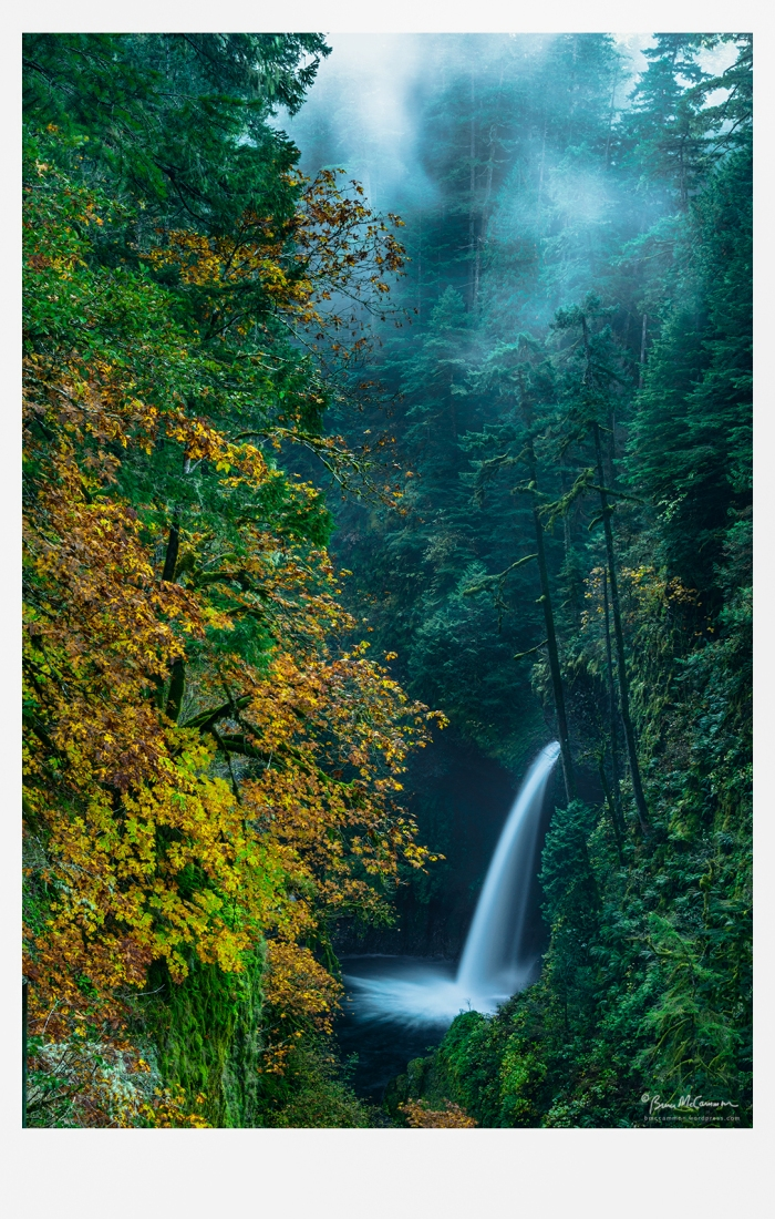 Metlako Falls, Columbia River Gorge National Scenic Area
