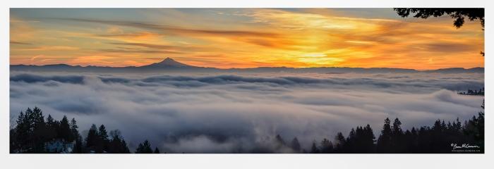 Pittock sunrise